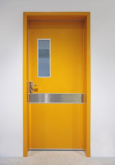 Paper Honeycomb Manual Swing Door For Hospital Application Single Open