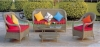 Patio rattan sofa sets furniture outdoor sofa furniture supplier