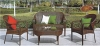 Rattan sofa furniture set outdoor wicker patio sofa furniture set