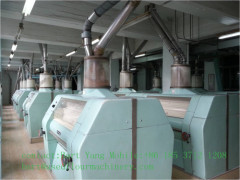 300Tons Buhler-Miag Flour Mill Machines On Sale