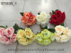 Artificial Flower China of Silk Roses