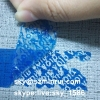 Blue Rectangle Plastic Blank Security Void Sticker Label with Strong Adhesive