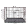 Pet Products Two Doors Dog Metal Cage