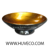 Eco-Friendly Handcrafted Lacquer Serving Bowl