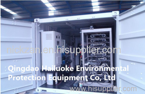 Containerized Water Treatment Plant/Seawater Desalination Equipment with Reverse Osmosis System