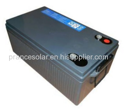 Hot products superior quality 12v 220ah street light solar battery