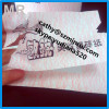 Minrui anti-counterfeiting anti-copied unique water wave tamper evident self adhesive one time use security label printi