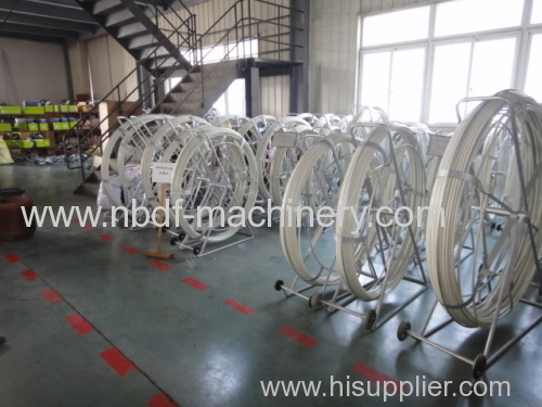 Fiberglass Duct Rodders for underground cable installation
