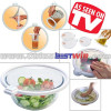 VACCUM BOWL LID FOOD PERESERVATIVE FLIM 4PCS AS SEEN ON TV