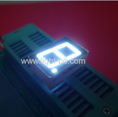 Single digit 0.56 inch common anode ultra white 7 segment led display for home appliances