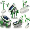 Factory product New Green Energy products 6 in 1 Intellectual DIY solar kit Solar robot Intellectual toys item LH058