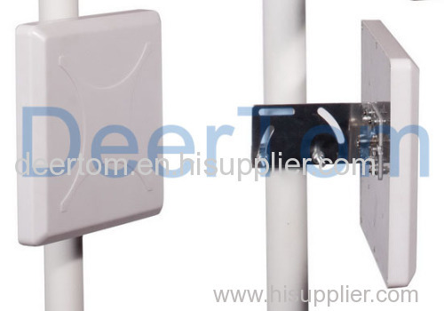 1920-2170MHz 3G UMTS Patch Panel Antenna 14dBi Repeater Booster Amplifier Antenna Indoor Outdoor Directional
