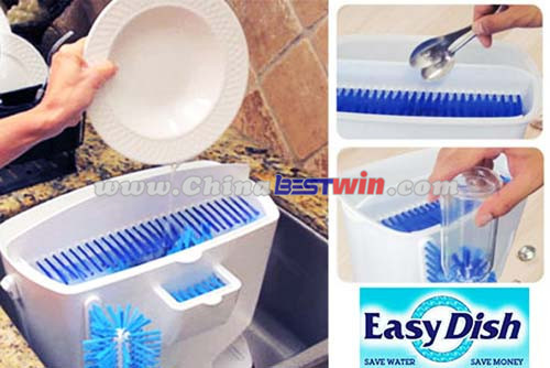 Easy Dish Manul Environmentaly Plastic Dishwasher As Seen On TV