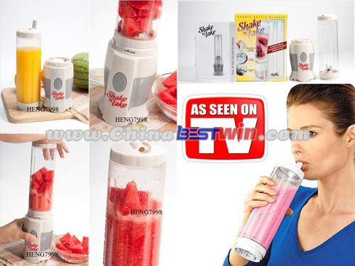 Shake N Take Sports Blender Mini Travel Jucier