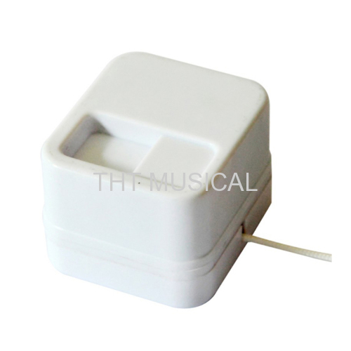 STANDARD SIZE WASHABLE PULL STRING MUSIC BOX MOVEMENT