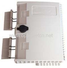 Outdoor Lockable 16 fibers MDU Optical Splitter Terminal