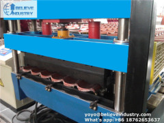 3D Glazed Tile Roll Forming Machine