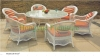 Rattan outdoor furniture rattan table chairs sets supplier