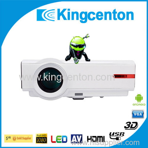 High lumens projector 4500 lumens projector high brightness high Resolution native 1280x800 pixels LCD Projector