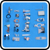 custom precision electrical cable stamping terminals