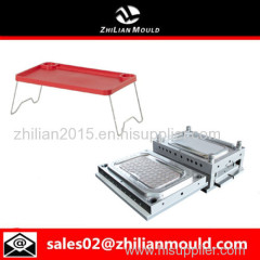 Portable plastic laptop stand injection mould