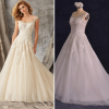 ALBIZIA Intricate Beading Jewel Lace Applique Tulle Ball Gown A Line Wedding Dresses