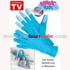 2 Magic Bristle Gloves Household Cleaning Glove As Seen On TV