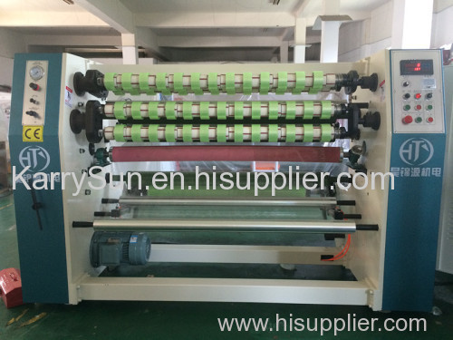 Four shafts bopp tape slitting rewinding machine for sale