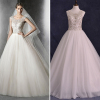 ALBIZIA 2016 New Beading Ivory Jewel Tulle Ball Gown modest Monarch/Royal Wedding Dresses