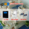 Brand alarm control panel with infrared detector and door contact touch LCD keypad alarm panel