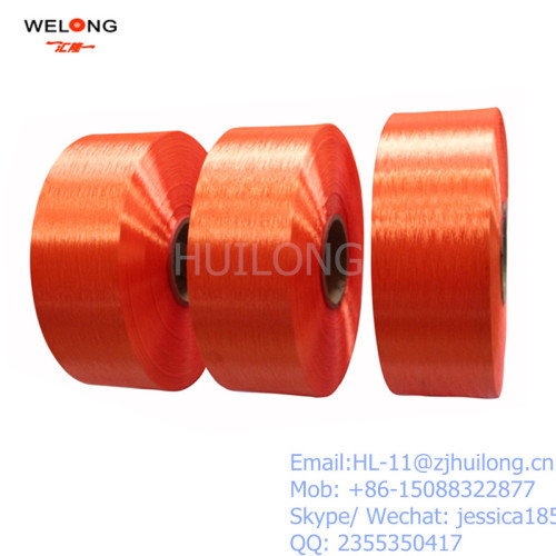 poly colored yarn fdy trilobal bright 150D manufacturers