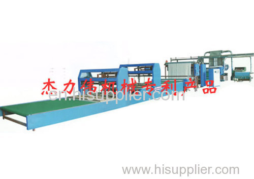 automatic cotton wadding production line