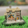cute polyresin building decoration statue for sale