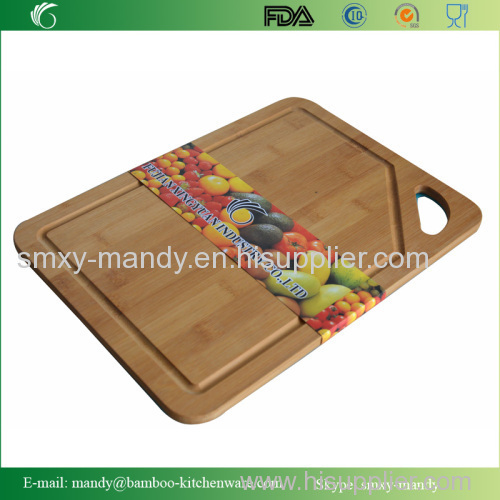 Bamboo Chopping Board with PP mat
