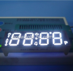 "Custom Ultra white common anode 4 digit 0.56"" 7 segment led display for oven timer control"