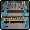 metal PCB contact forming die & tooling