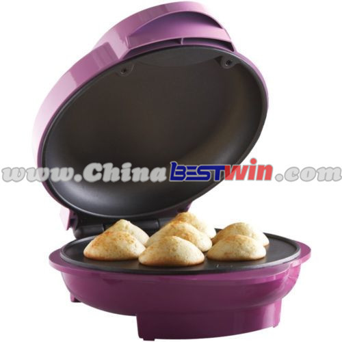Hostess Mini Cup Cakes Maker Pastry Brownie Muffin Donut Maker Baker Mold Electric Machine As Seen On TV