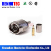 Straight N Plug Connector For RG58 RG59 RG6 RG213 Cable