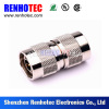 RF Straight Brass N Male To Male Connector