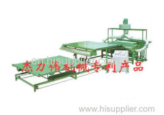 Automatic cotton/wool/polyester carding machine