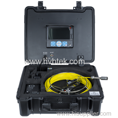 Sewer Drain Pipeline Inspection Camera with Meter Counter