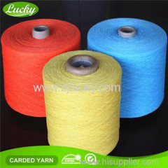 Colored Yarn for carpet