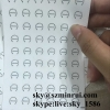 Dia 15mm Strong Adhesive Security Warranty Label Tamper Destructible Paper Sticker for Seal