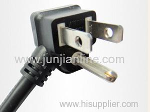 American 250v Standrad 3pin power plug wire / cable