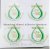 One Time Use Self Adhesive Transparent Sticker Paper Destructible Waterpoof Transparent Label Material