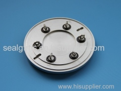 glass sealing battery cover