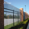 Steel picket fence panels