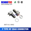 90 Degree F Jack Connector