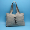 eco friendly jute tote shopping bag