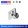 N Female Rf Connector Straight Flange Mount Jack Connector
